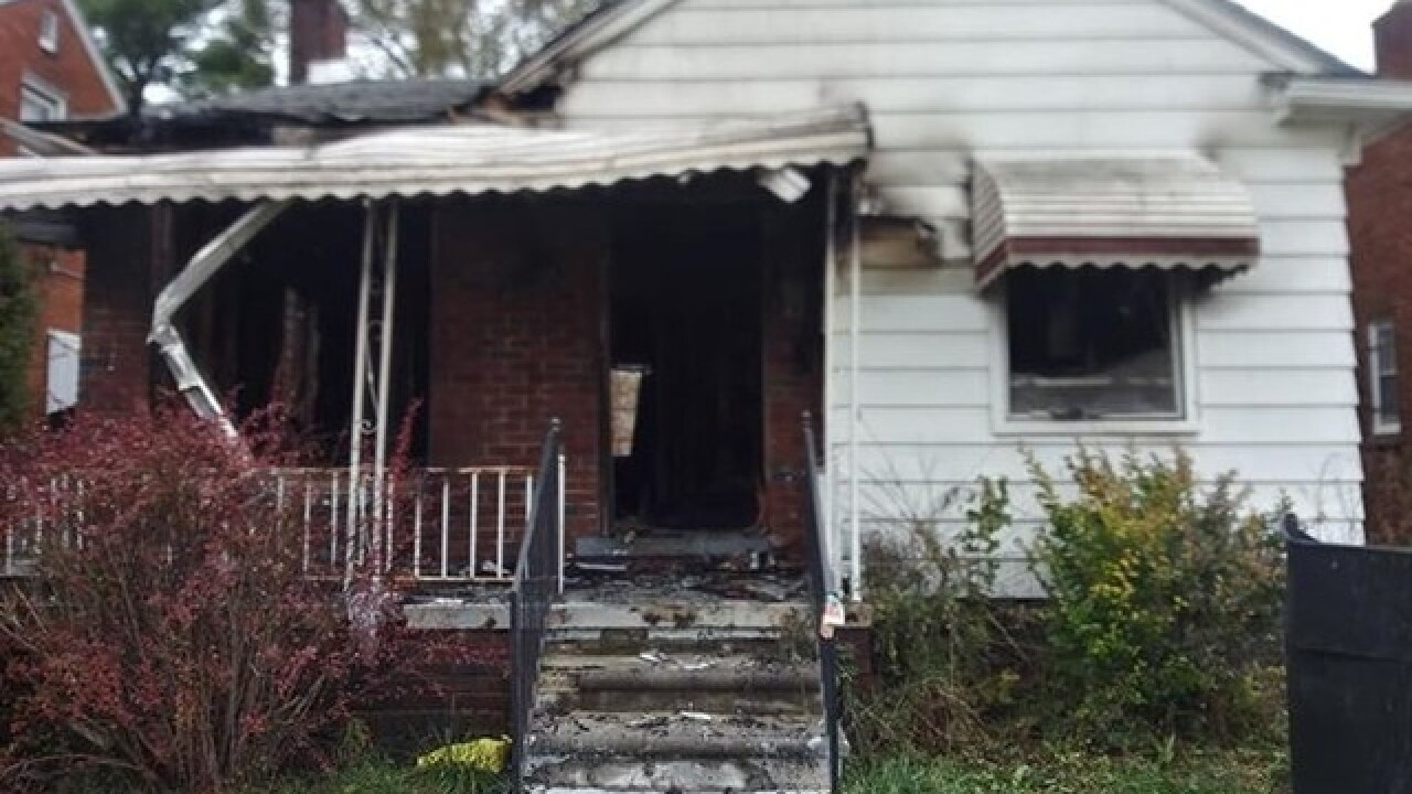 Mother of 3 says children's father torched home