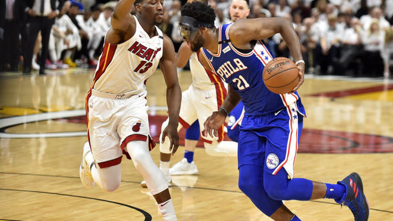 Joel Embiid scores 23, 76ers top Heat 128-108 for 2-1 series lead