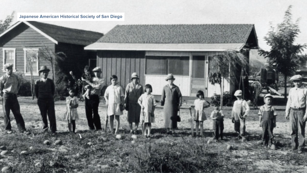 Yasukochi family early 1920s Japanese American Historical Society of San Diego.png