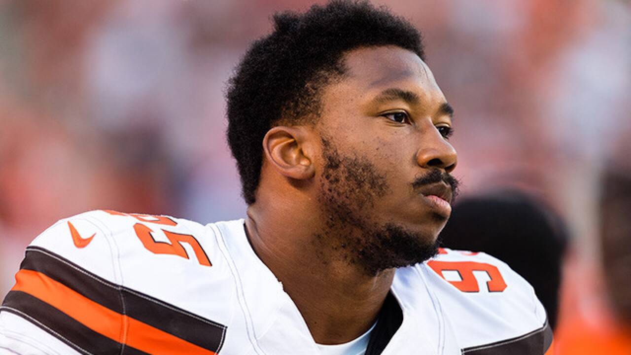 Myles Garrett diagnosed with high ankle sprain
