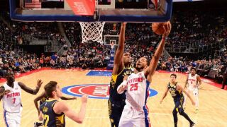 Pistons edge Pacers on late Derrick Rose layup