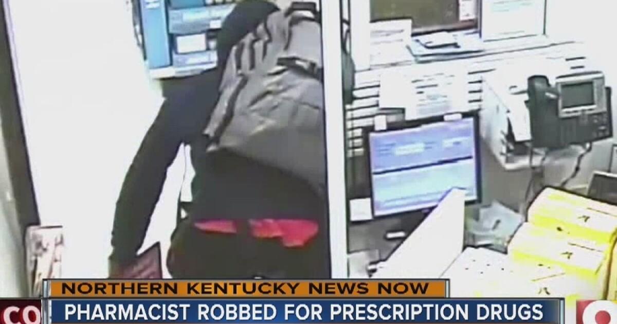 PD: Robber jumps pharmacy counter, pulls gun