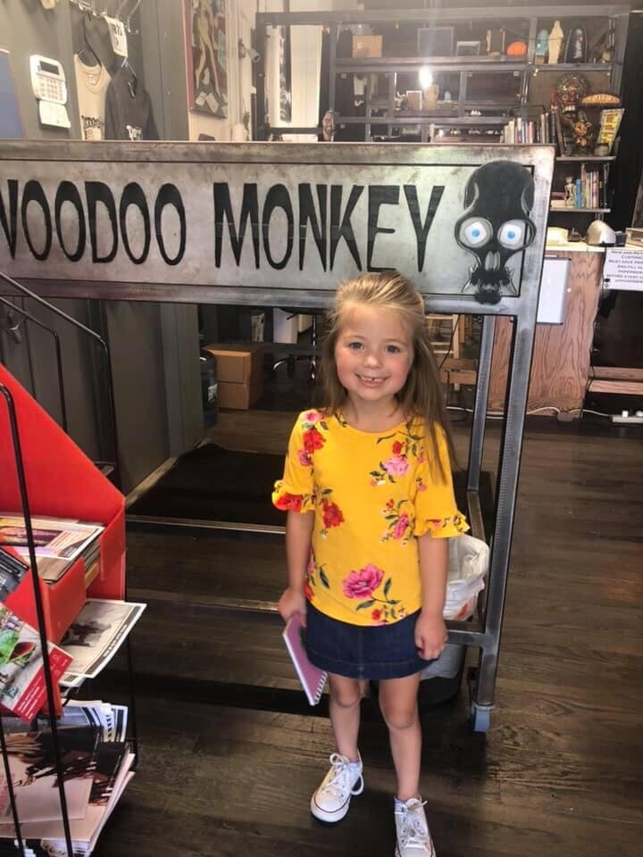 5-year-old tattoo artist