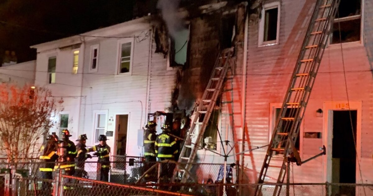 Woman trapped by fire dies in Northeast Baltimore