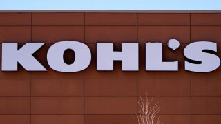 Kohl's store sign