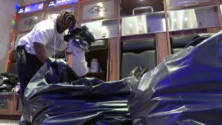 Ravens Locker Clean-out