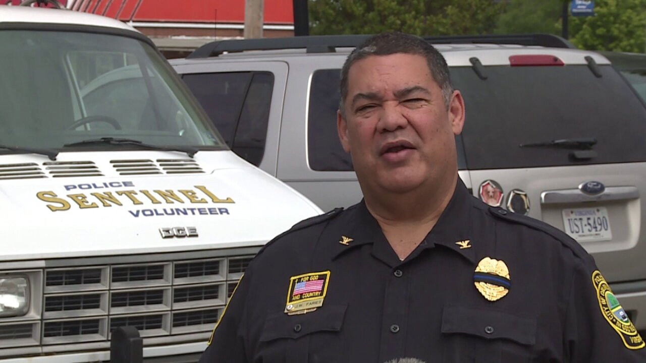 Colonial Heights Police Chief Jeff Faries