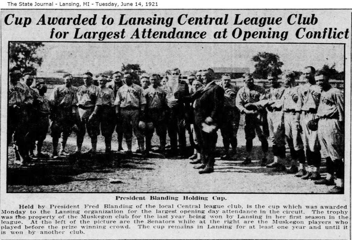 The Lansing Senators Minor League Baseball team