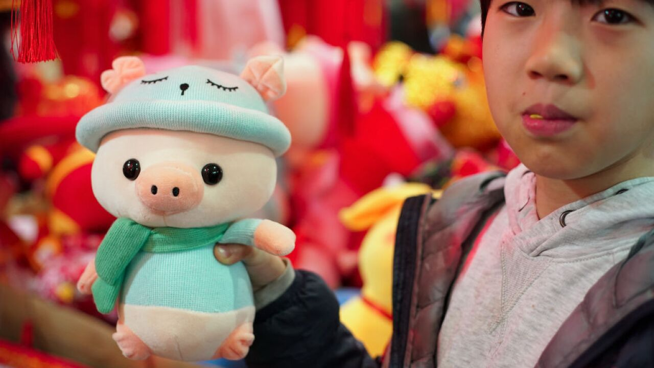 Chinese Prepare For Spring Festival lunar new year chinese new year