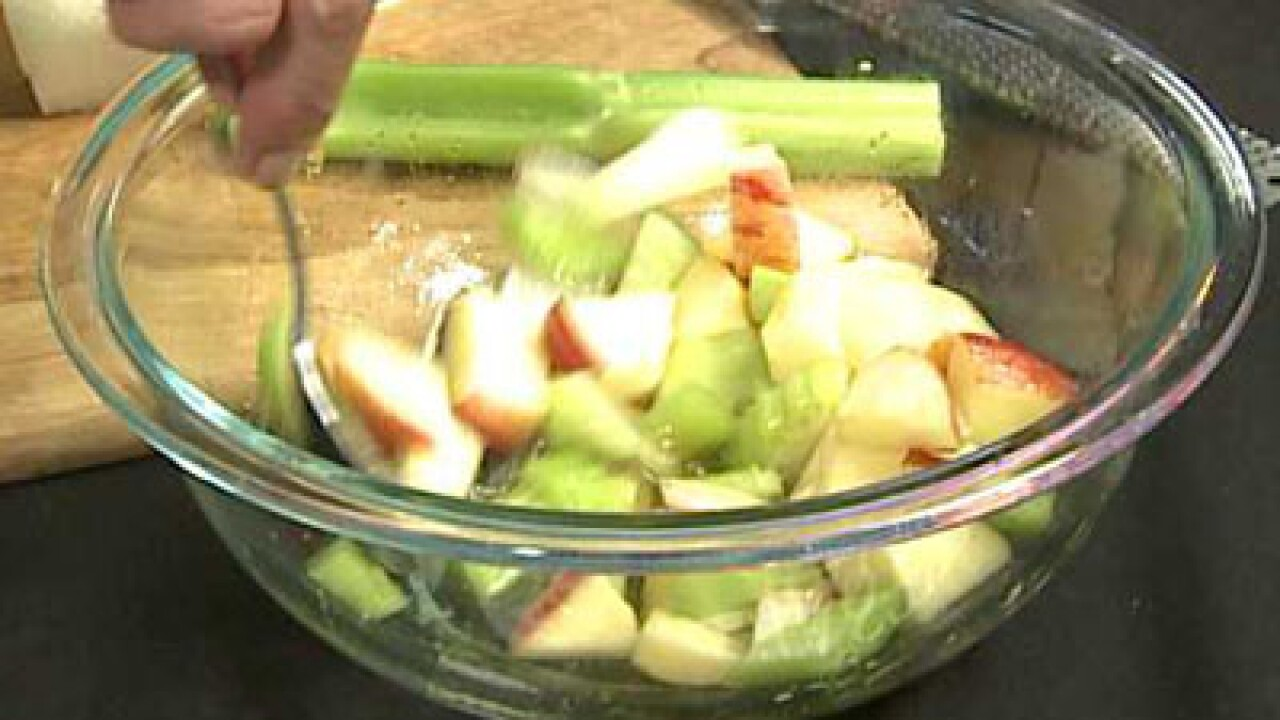 Apple and Celery Salad (07.31.12)