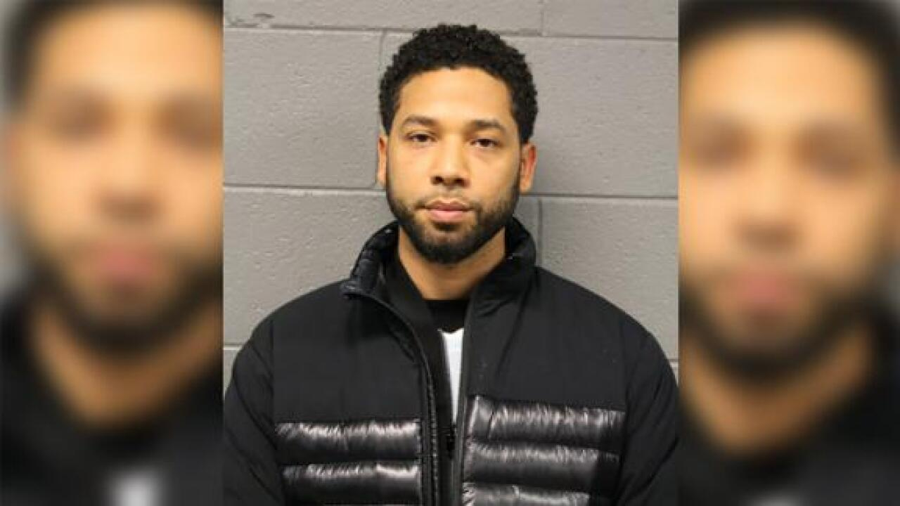 Jussie Smollett arrested and faces a felony charge for allegedly filing false police report