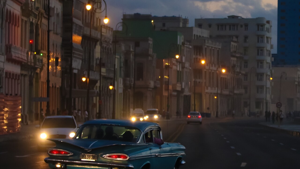 The Malecón, Havana Cuba