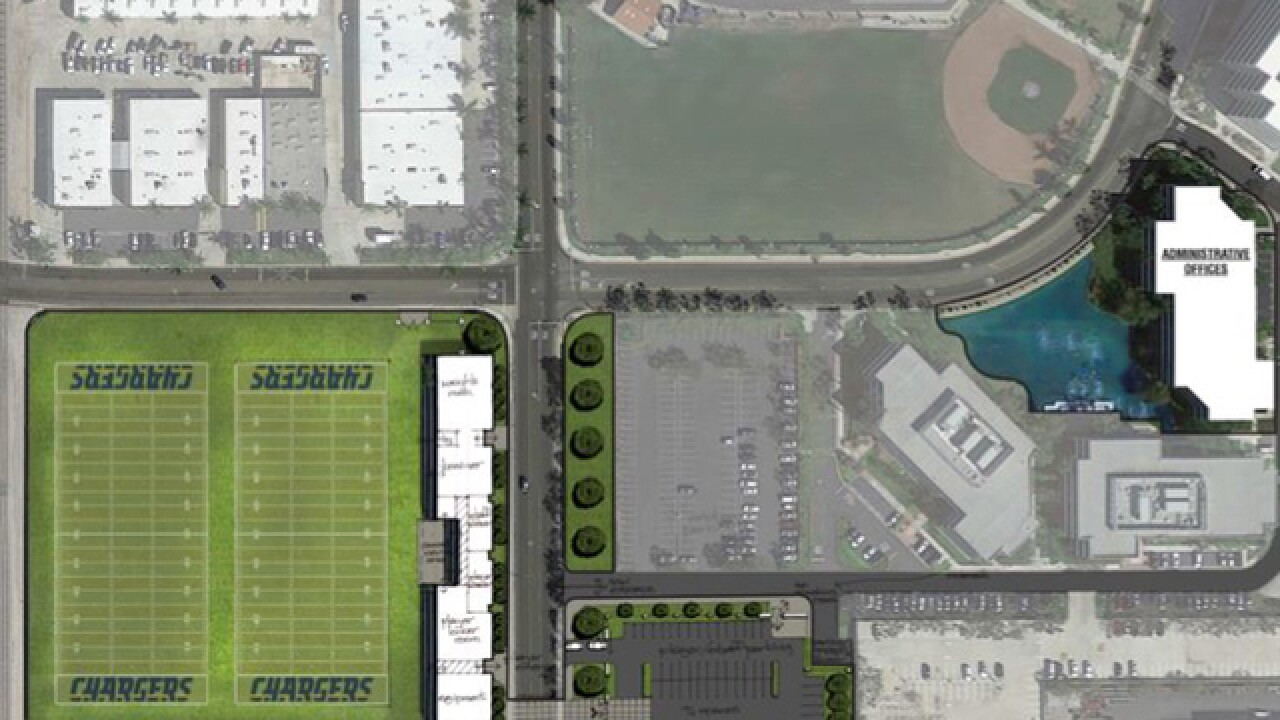 Chargers confirm OC team facility plans