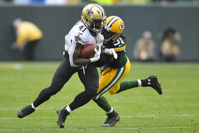 PHOTOS: New Orleans Saints v Green Bay Packers