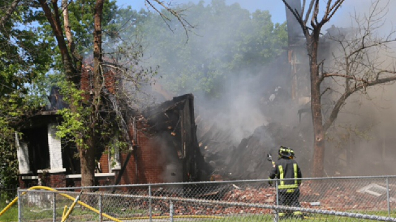 Hamilton home destroyed after massive fire