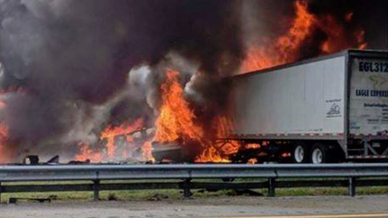 Majority of victims from fiery crash on I-75 released from