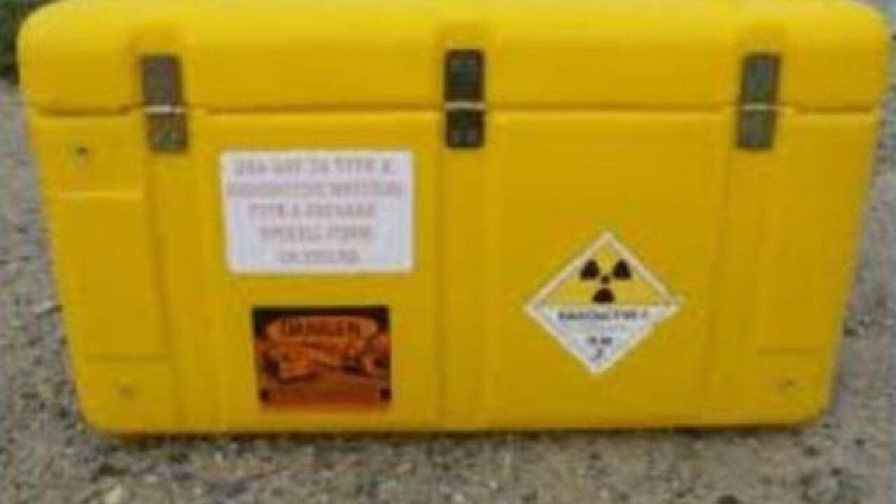 Police: Nuclear density gauges stolen