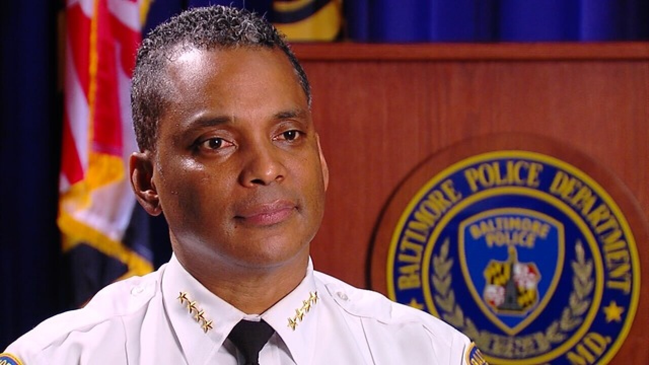 Baltimore Police Commissioner De Sousa resigns