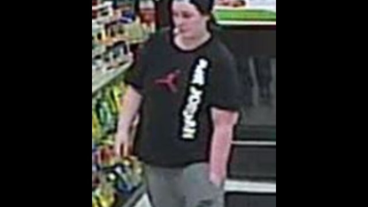 Sterling Heights PD seeking to identify woman seen stealing donation jar from 7-Eleven
