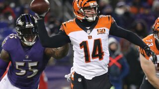Andy Dalton, Buffalo Bills fans share early Feel Good Sports Story of 2018