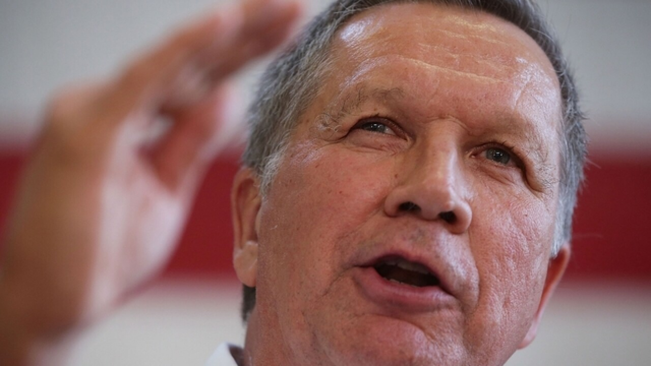 John Kasich vetoes controversial 'heartbeat' bill