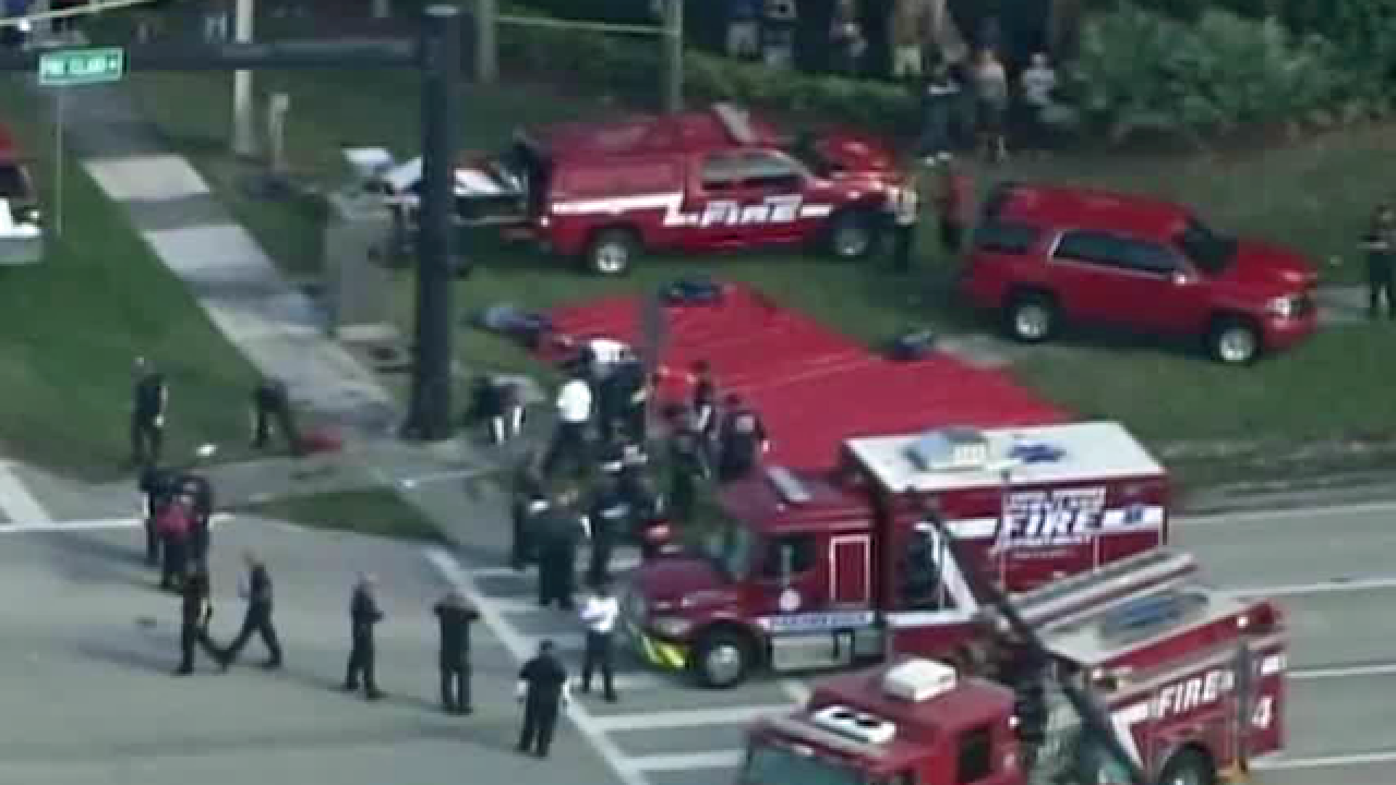 Sheriff: Broward County school shooter in custody, at least 17 killed