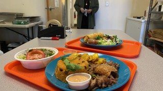 Kiosko Latino serves Puerto Rican and Mexican cuisine