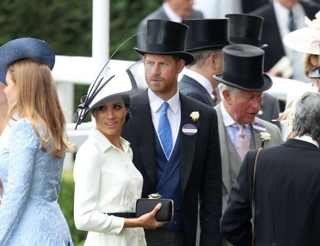 Meghan Markle and Prince Harry attend Royal Ascot 2018