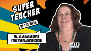 Super Teacher Takes Care of Animals and Students at Felix Varela High School