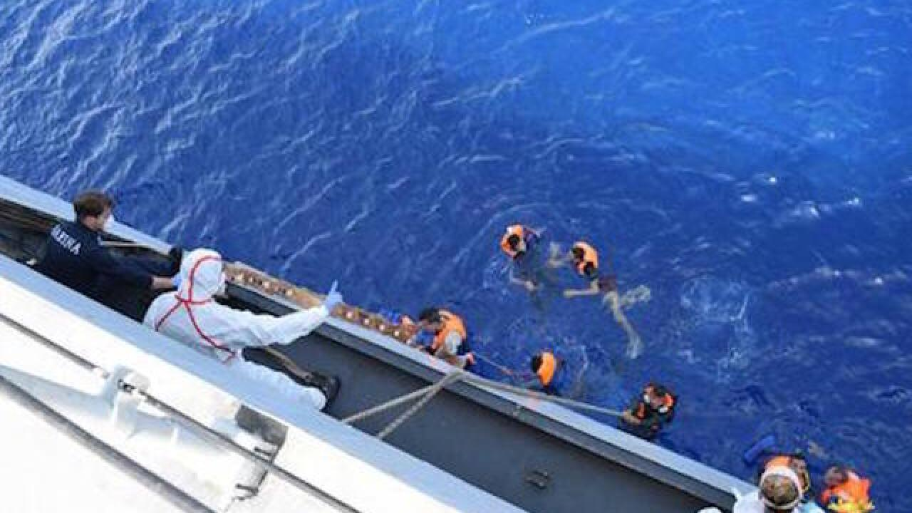 Libya: Dozens of bodies found after capsizing