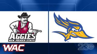 New Mexico State vs CSUB - WAC Basketball