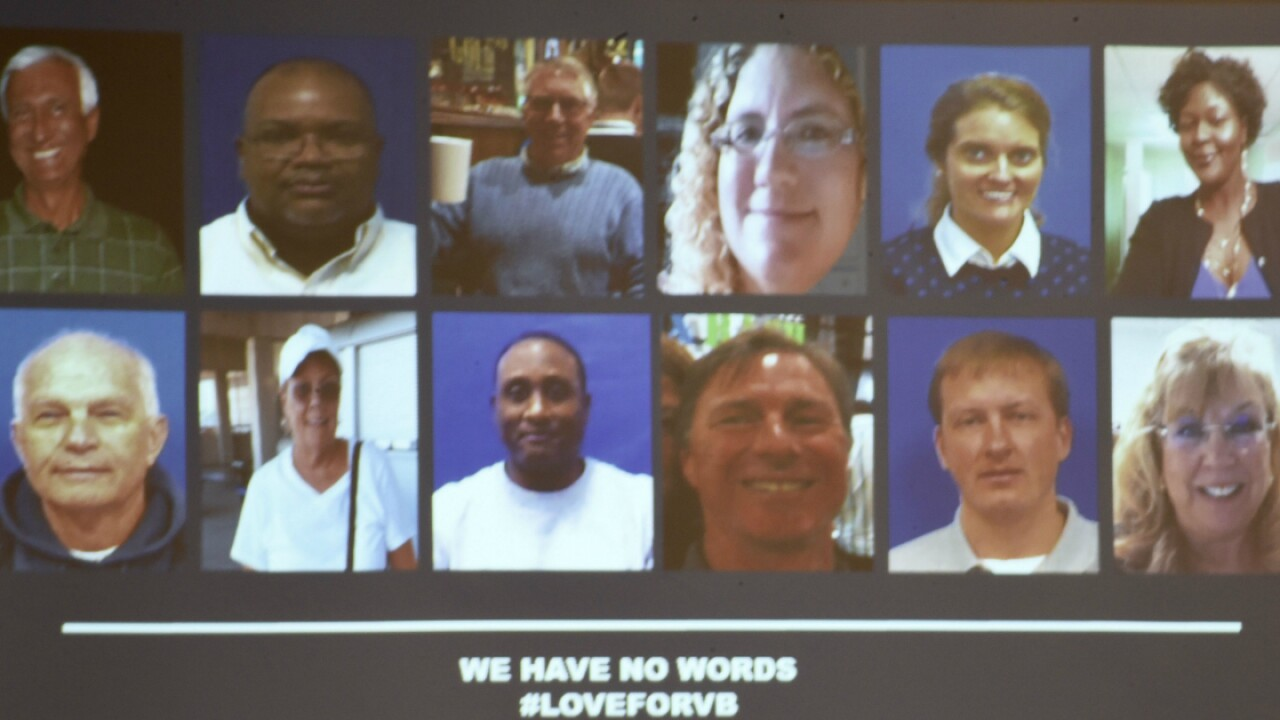 These are the city employees, contractor killed in Virginia Beach Municipal Centershooting
