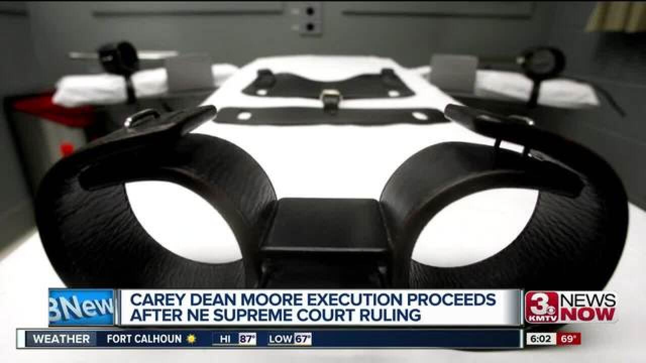 Carey Dean Moore execution remains scheduled for Aug. 14