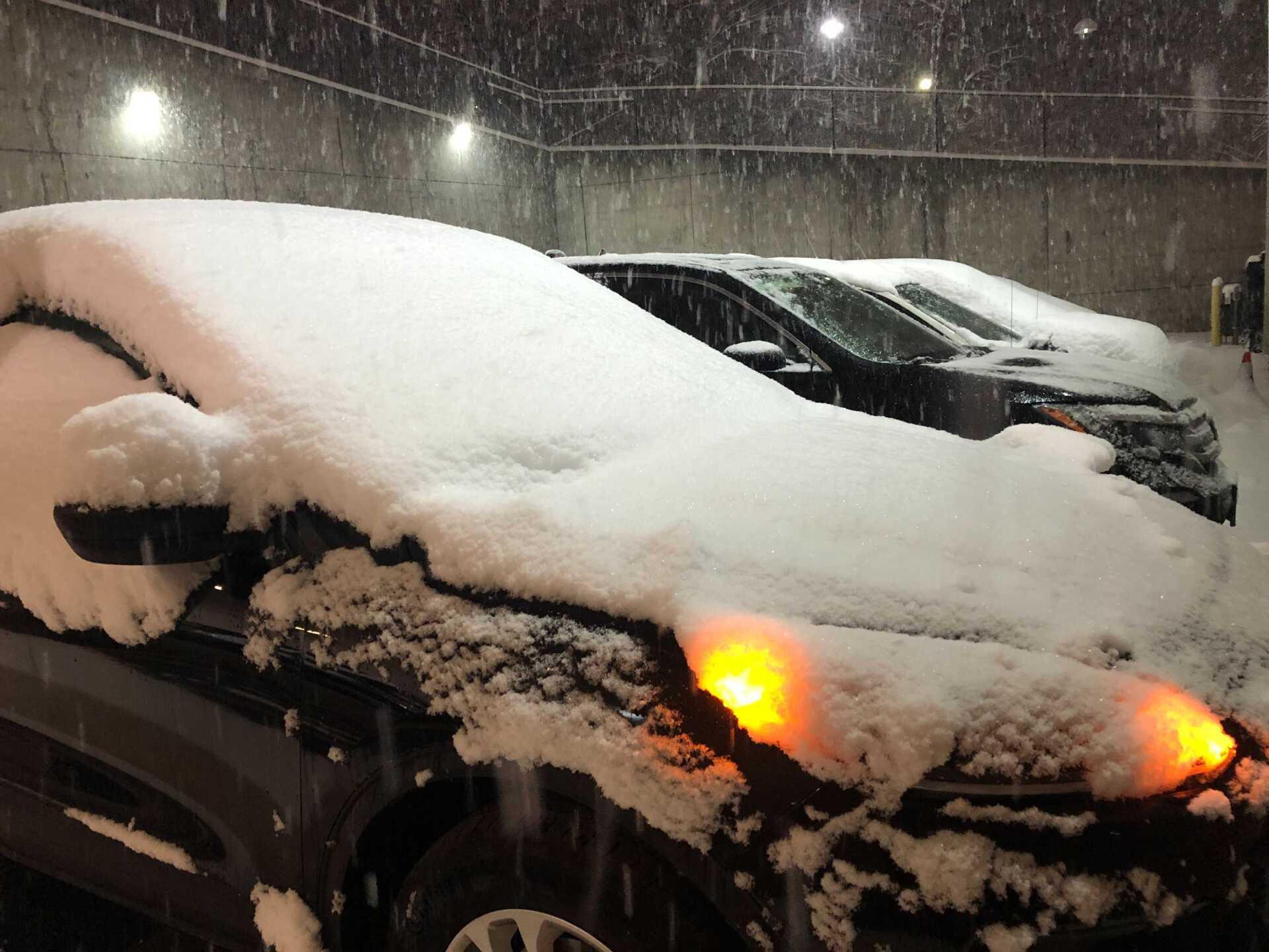WCPO snow parked outside WCPO.jpg