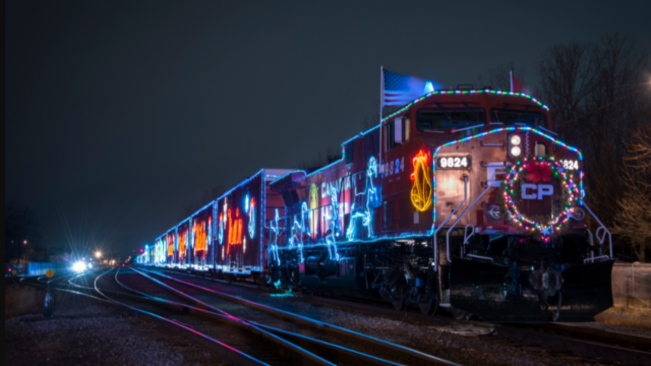 Canadian Pacific Holiday Train stops in Wisconsin this week