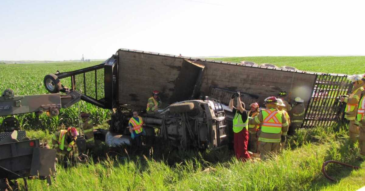 Patrol says pickup driver killed in Custer County collision