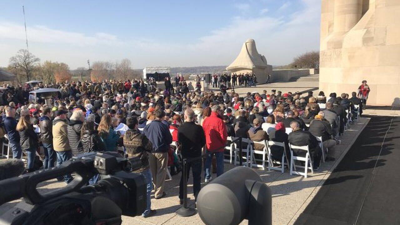 WWI Museum marks centennial of armistice