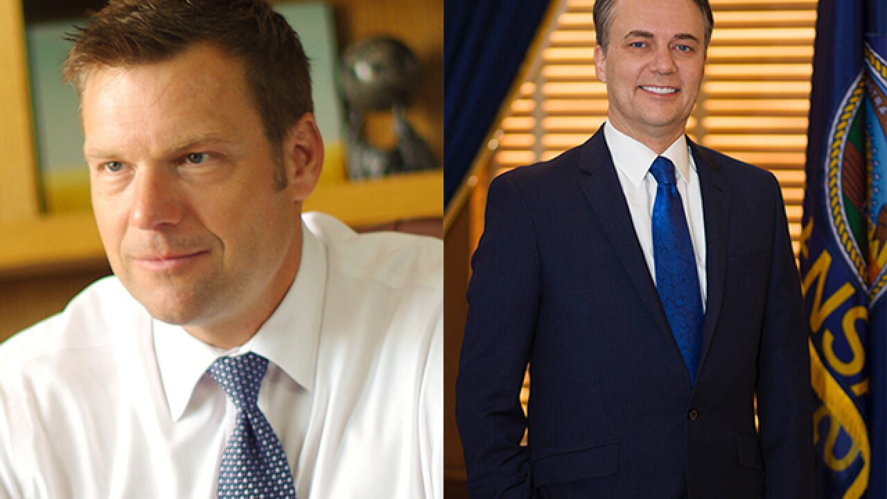 Kobach maintains lead after another vote count in Kansas Governor's primary
