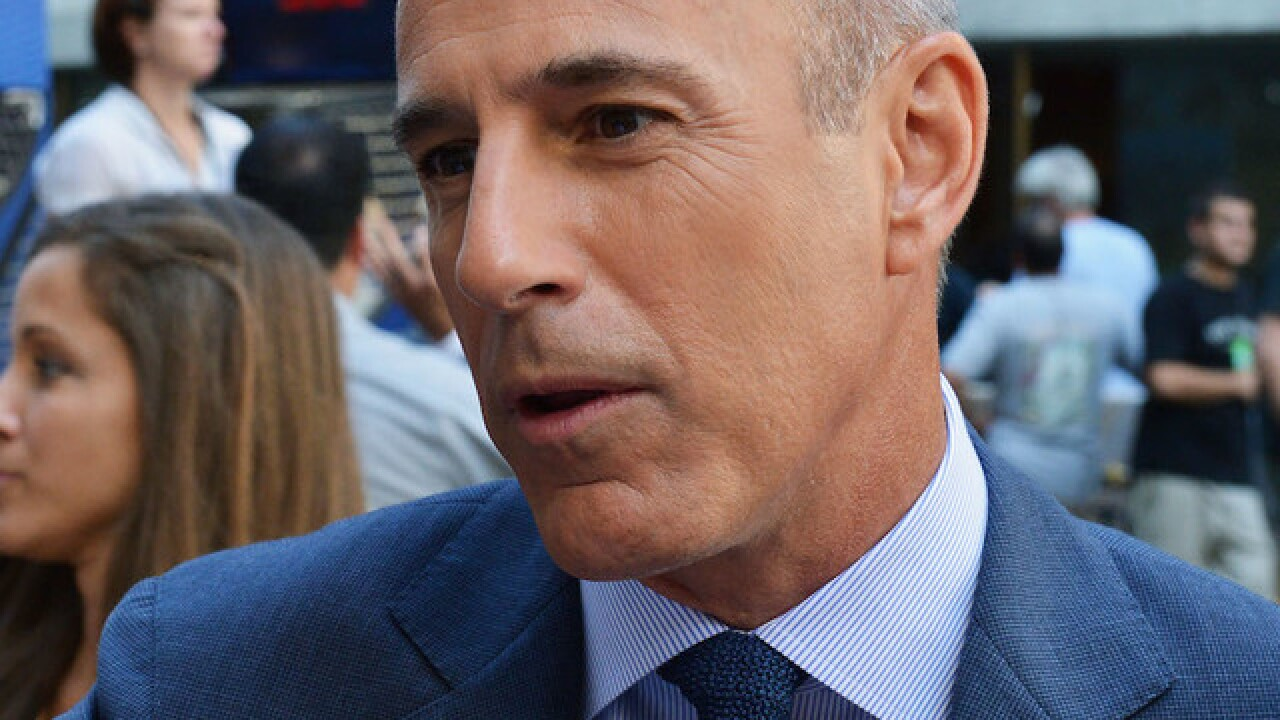 Matt Lauer will not receive a payout from NBC, source says