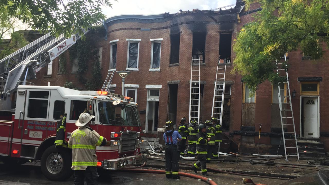 Penn North Woodbrook fire