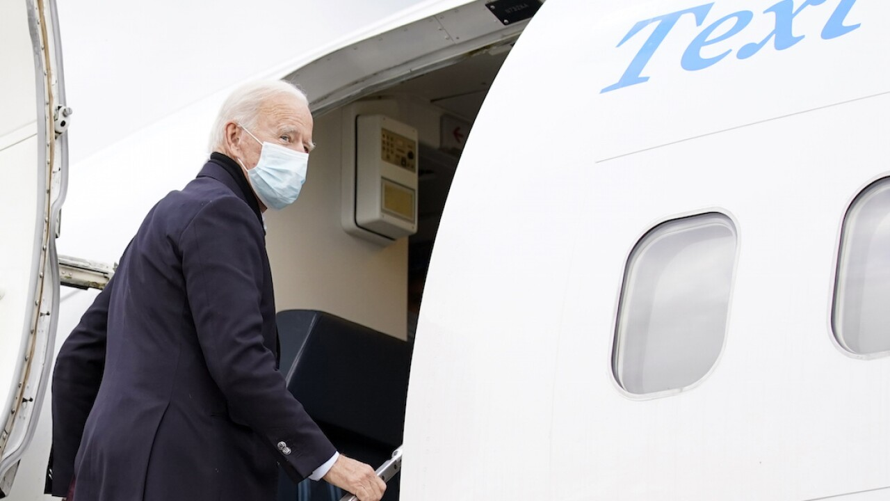 Biden skips testing Saturday, plans test Sunday