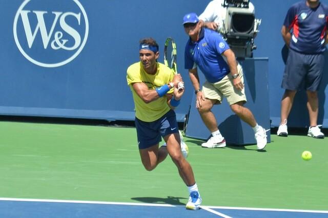 Top tennis stars prepare for US Open in Ohio