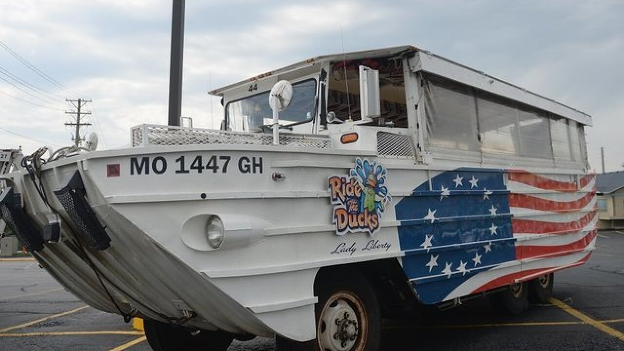 Duck boat captain in fatal capsizing indicted on 17 felony counts