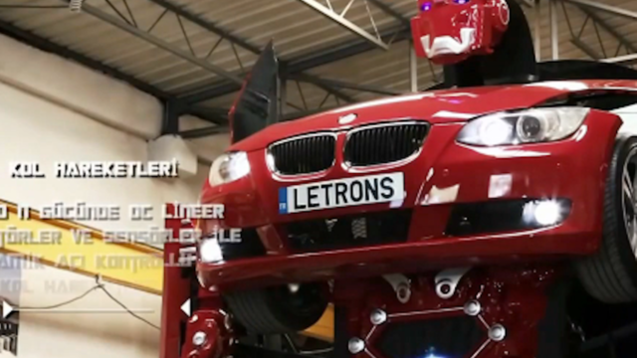 This car is actually a 'Transformer' hero in disguise