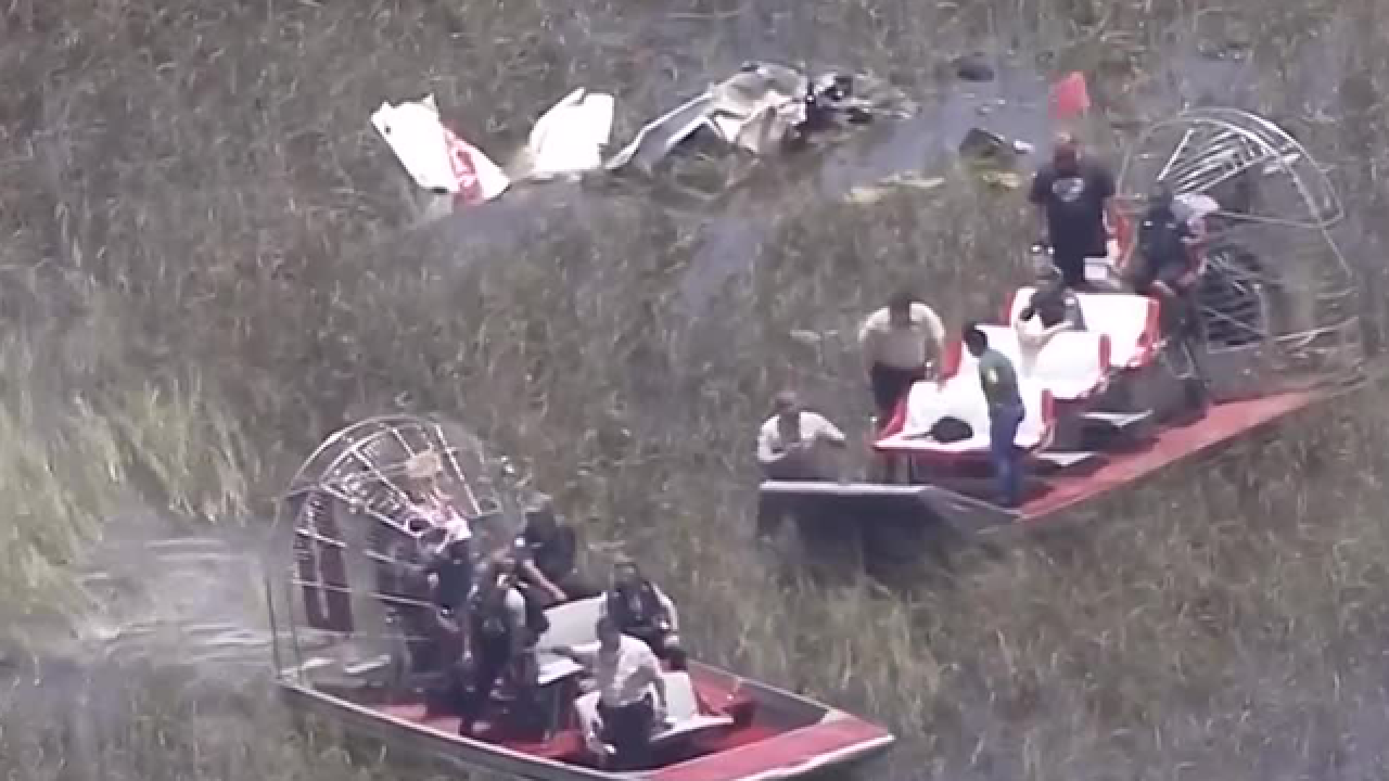 Four killed in midair crash over the Everglades in Miami-Dade County