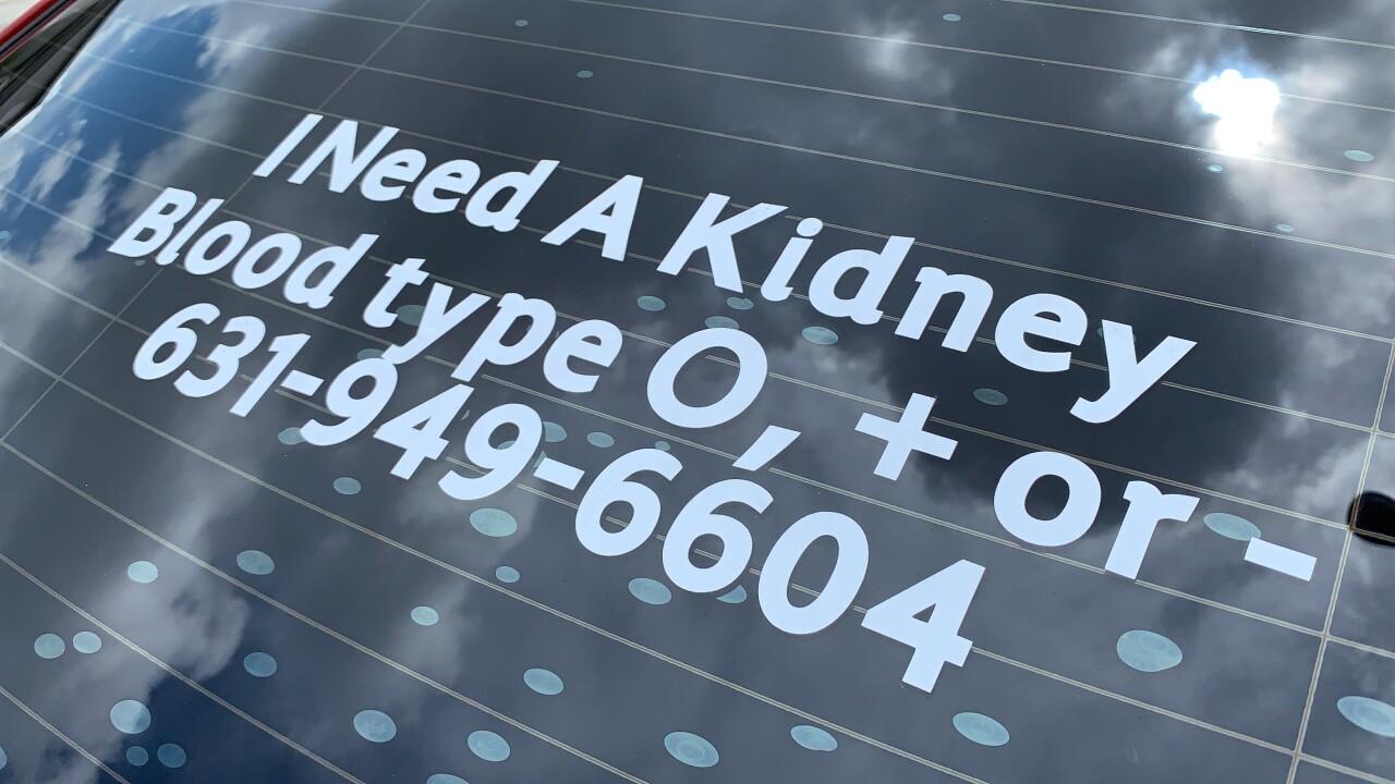 Woman needs a kidney
