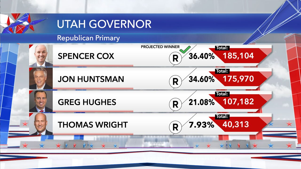 Governor's race results