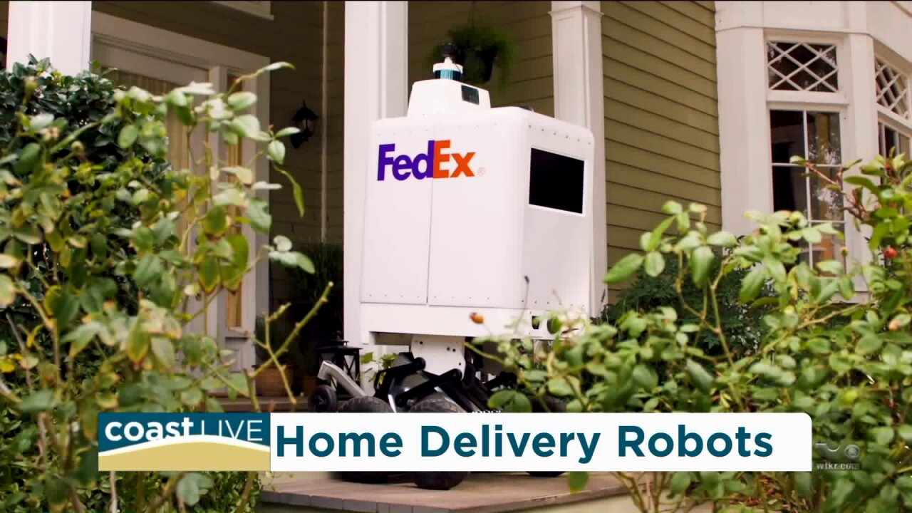 FedEx is launching new robotic home delivery on CoastLive