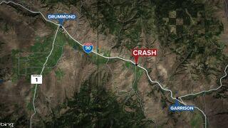 Polson man dies in crash on I-90