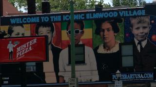 Elmwood Village mural